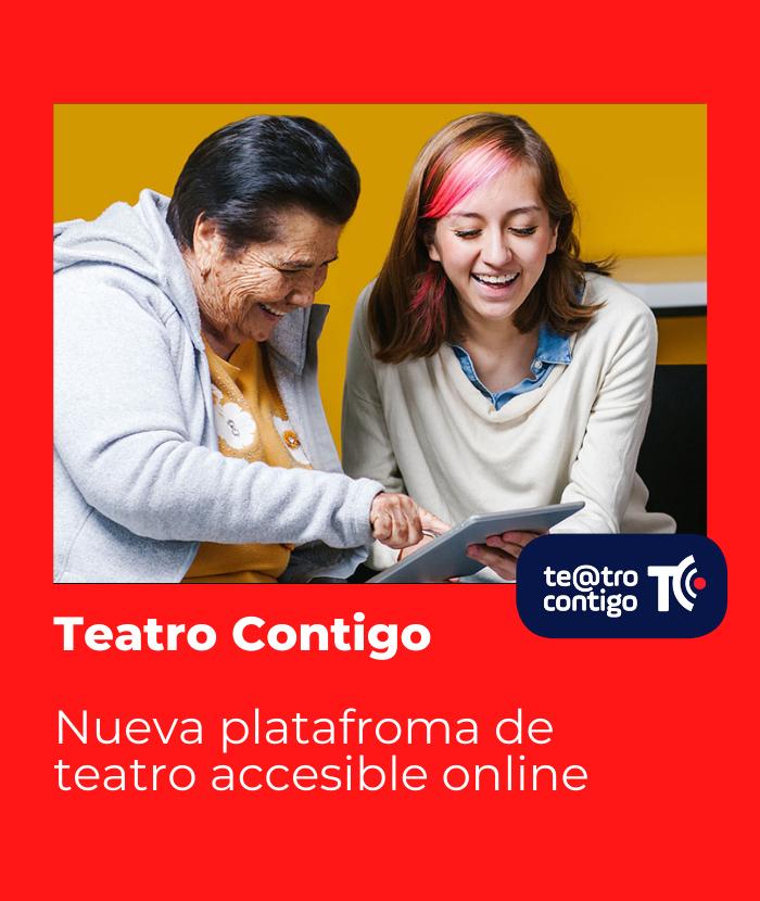 Teatro Contigo. Nueva plataforma de teatro accesible online