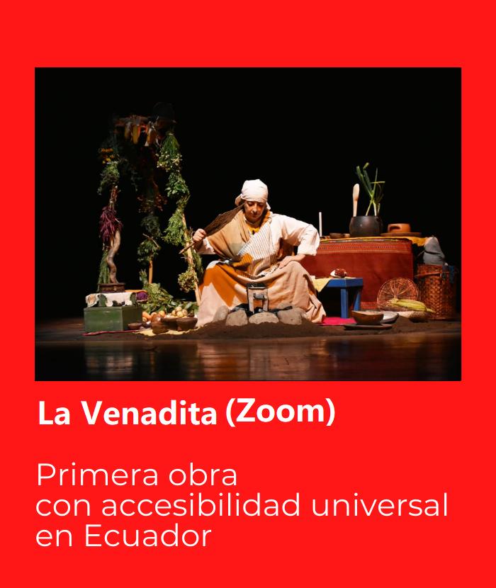 La Venadita Zoom. Primera obra con accesibilidad universal en Ecuador