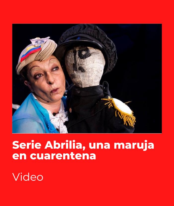Serie Abrilia, una maruja en cuarentena