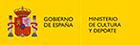 Logo del Ministerio de cultura y patrimonio de España